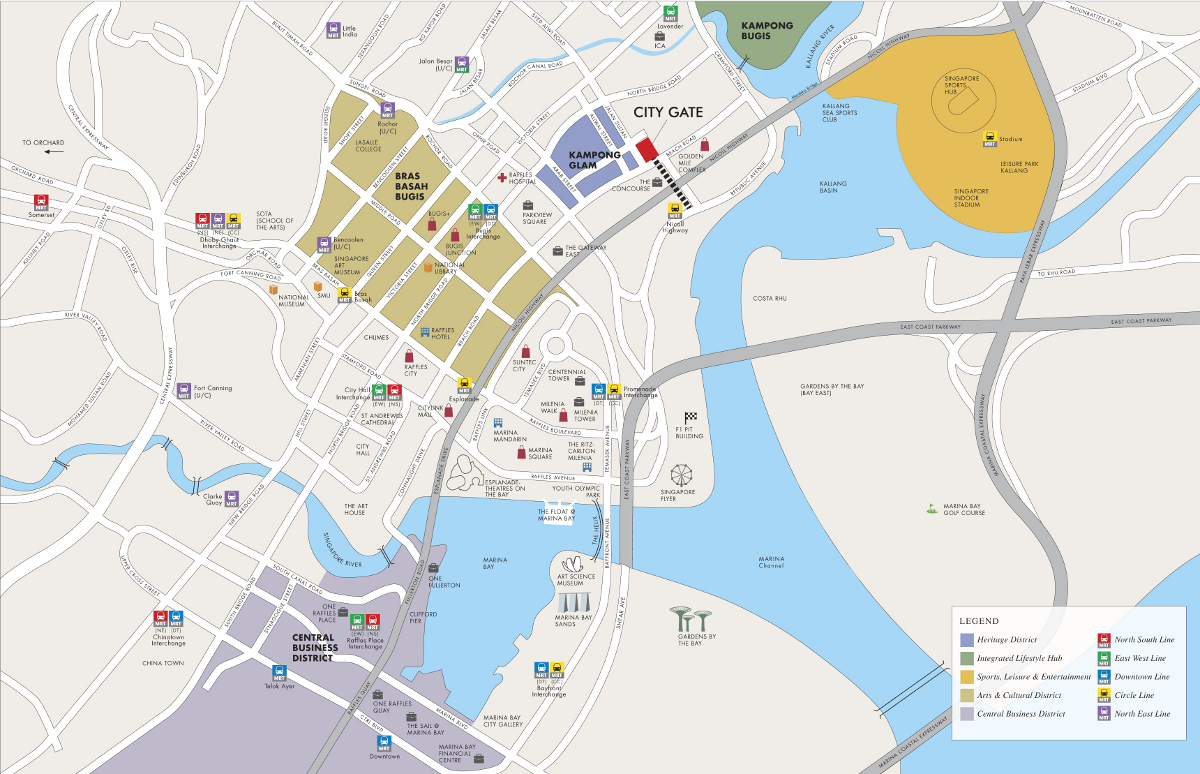 CityGate Location Map | CityGate Location