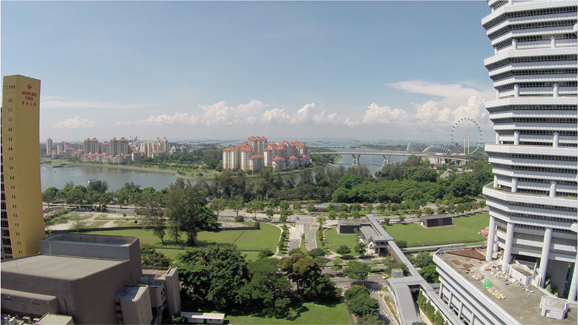 City Gate Condo 17th Floor Kallang Basin View